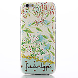Countryside Pattern TPU Soft Material Phone Case for iPhone 6