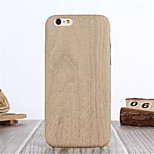 Multicolor Wood PU Phone Case For iPhone 6 Plus (Assorted Colors)