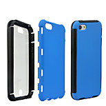 2 in1 Hybrid High Impact Hard Silicone Case for iPhone 5/5S  (Assorted Color)