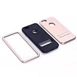 4.7 Inch Special Design Triple TPU+PC Case with Kickstand Back Cover for iPhone 6 (Assorted Colors)