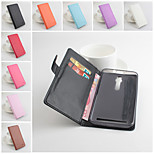 Protective PU Leather Magnetic Vertical Flip Case for Asus Zenfone 2(5.5)(Assorted Colors)