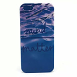Seawater Pattern PC Hard Case For iPhone 5/5S