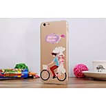 pittura diamante look / grafica / speciale tpu disegno Back Cover per iPhone 6 / 6s