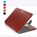 Fashion Solid Color PU Leather Full Body Case for Macbook Retina 12 inch(Assorted Color)