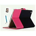 SpeciAlly DesiGned Bump Color PU Leather Auto Sleep For iPad Air 2 Thin Shell+ Free Screensaver + Touch Screen Pen