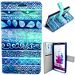 Ancient Figure Pattern with Card Bag Full Body Case for LG G3