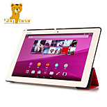 Shy Bear™ Leather Cover Stand Case for Sony Xperia Tablet Z4 Ultra 10.1