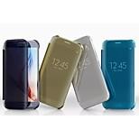 삼성 갤럭시 S6 가장자리 투명 PC 전신 케이스 (모듬 된 색상)