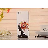 Painting Graphic/Special Design TPU Back Cover for iPhone 5/5S