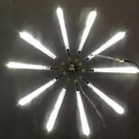 DC12V вход 23W 30см длинные 36pcs 3528SMD привело метеорный дождь свет, белый цвет 10 шт / комплект
