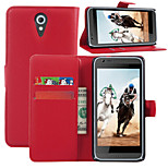 Litchi Around Open Bracket Leather Phone Wallet Card Suitable for HTC Desire 620 (Assorted Color)