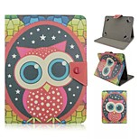 Owl Pattern Magnetic Flip Stand Universal PU Leather Case for 7 Inch Tablet PC