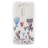 Hot Air Balloon Pattern TPU Material  Phone Case for LG G3