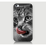 The Tongue lick the cat Pattern Case Back Cover for Phone4/4S Case
