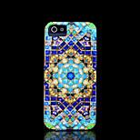 copertina rigida azteco mandala fiore modello di iphone 5 per il iphone 5 s
