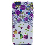 COCO FUN® Flowers Collection Pattern Hard PC IMD Back Case Cover for iPhone 6