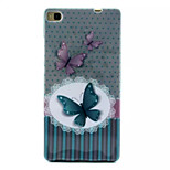 Cover Back Case Butterfly TPU Soft Case Special Design for Huawei P8