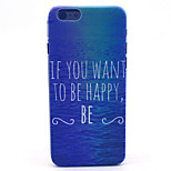 Happy Sea  Pattern PC Hard Case for iPhone 6