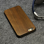 ultraminces Noyer cas du bois de couverture rigide pour iPhone 6