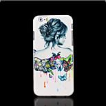 belleza la cubierta del patrón para el iphone 6 más caso