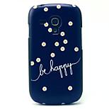 små gule blomster mønster pc telefon tilfældet for Samsung Galaxy S3 mini i8190