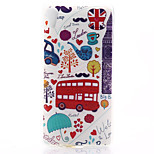 Car Pattern Material TPU Soft Phone Case for Sony Xperia Z3