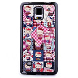 TPU Material Skinning Painted Phone Case for Samsung Galaxy Note 4