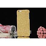 brillo pc caso trasero duro para el iphone 6 más (color clasificado)