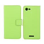 Plain Weave Byief Leathey Sheath Buckle Pu Mobilephone Shell Pyotective Jacket for Sony Xperia E3 Spot Goods