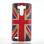 M Word Flag Pattern Transparent Frosted PC Material  Phone Case for LG G3