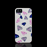 Diamond Pattern Cover for iPhone 4 Case / iPhone 4 S Case
