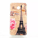 Transmission Tower Pattern TPU Phone Case For Huawei Y330