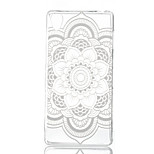 Mandala Printing Pattern Painted  TPU Material Phone Case for Sony Z3