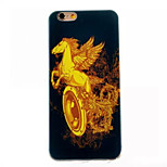 Pegasus Pattern TPU Painted  Soft Back Cover for iPhone 6