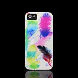 Feather Pattern Cover for iPhone 4 Case / iPhone 4 S Case