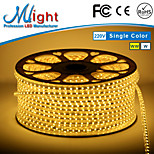 Mlight 5 Meter 72 leds/m 5050 SMD Warm White/White Waterproof/Cuttable 3 W Flexible LED Light Strips AC110-220 V