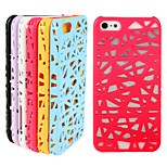 Bird's Nest Hollow Cooling PC Material Phone Case For iPhone 6(Assorted Colors)