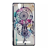 Dreamcatcher Pattern Hard Cover Back Case Plastic for Sony Xperia T2 Ultra