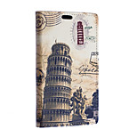 Leaning Tower Pattern Full Body Case for Sony Xperia E4G(Assorted Colors)