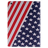 USA National Flag Picture PU Leather Full Body TPU Case with Card Holder for Ipad Air Ipad 5