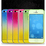 Multicolor Glitter Color TPU Phone Case For iPhone 5/5S  (Assorted Colors)