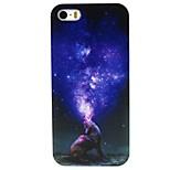 modello pc stella lupo caso duro della copertura posteriore per iPhone 4 / 4S