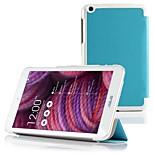 ivso asus memo pad 8 me181c ultra-sottile sottile case-coprirà intelligente solo in forma asus memo pad 8 tablet me181c (blu)