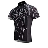 Spider Man Dark Color Tight Fast Drying Cycling T-Shirt Male