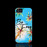 Phrase Pattern Hard Cover for iPhone 5 Case for iPhone 5 S