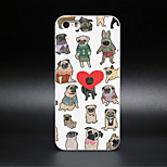 Novida Personalized Design Comic Style For Iphone5/5S/5C Case 2D PC Hard Black