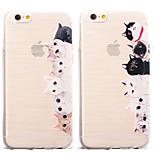 Cute Cat Pattern TPU Soft Case for iPhone 6