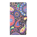 Jellyfish Pattern PU Leather Full Body Case with Stand and Card Slot for Sony Xperia C4