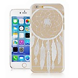 Dreamcatcher Pattern Transparent Phone Case Back Cover Case for iPhone6 Case