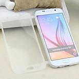 gjennomsiktig flip gratis turn berørings tpu telefon tilfelle for samsung galaxy S6 (assorterte farger)